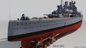 KGV stern before