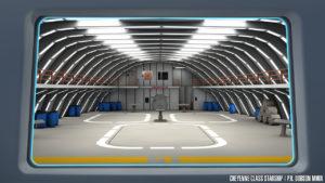 Shuttlebay interior