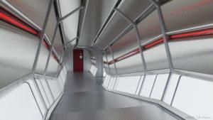 Transfer corridor