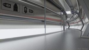 Circular corridor